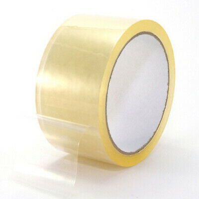 36 Rolls Clear Packing Packaging Carton Sealing Tape Thick 2 X 110 Yards