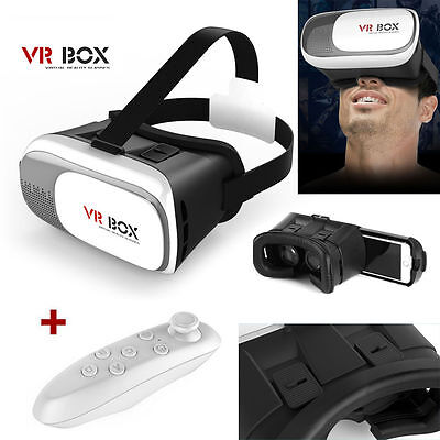 3D Virtual Reality VR Box 2.0 Google Glasses Cardboard Video Game Remote Phone
