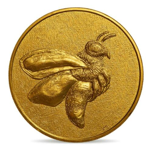 SOLD OUT TOKEN MONNAIE PARIS BEE  KIKI SMITH AMERICAN ARTIST  HONEY/GOLD COLOR