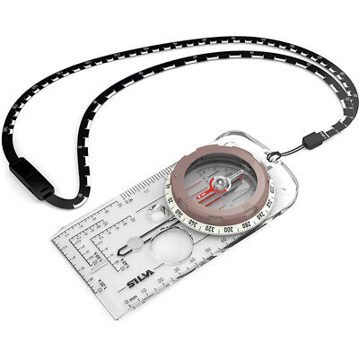 SILVA Field Compass with Dryflex Rubber Bezel and Lanyard D of E recommended