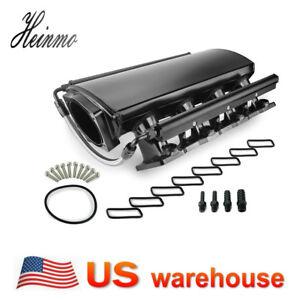 102mm Fabricated 3mm sheet metal Intake Manifold W/ Fuel Rails LS1 LS2 LS3 5.3L