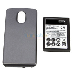 3800mah Extended Battery + Door Cover for Samsung Google Galaxy Nexus GT I9250