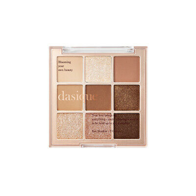 [Dasique] Eye Shadow Palette Sugar Brownie 9 Colors Combination Soft Shade 7g