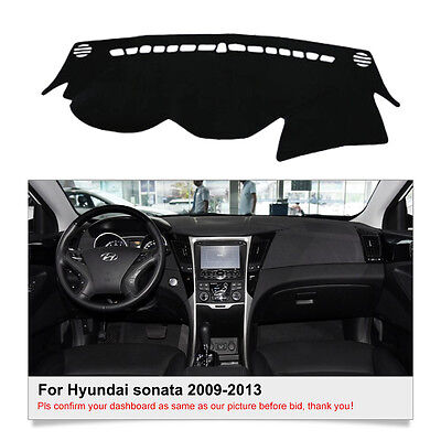 DashMat Dash Cover Mat For Hyundai Sonata 2009 2010 2011 2012 2013 Dashboard Mat