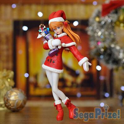 Sega Prize Neon Genesis Evangelion EVA PM Premium Christmas Figure Asuka Langley segunda mano  Embacar hacia Argentina