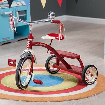 Radio Flyer 12 in. Classic Dual Deck Tricycle, Red