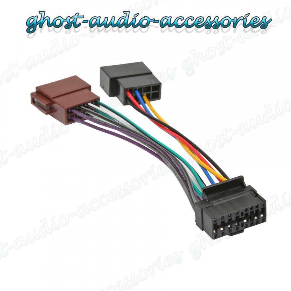 jvc 16 pin car stereo radio iso wiring harness connector. Black Bedroom Furniture Sets. Home Design Ideas