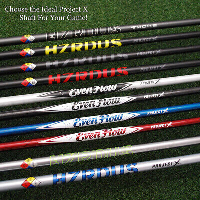 TaylorMade Driver Shaft Project X EvenFlow&HZRDUS&Smoke Right or LEFT Hand NEW