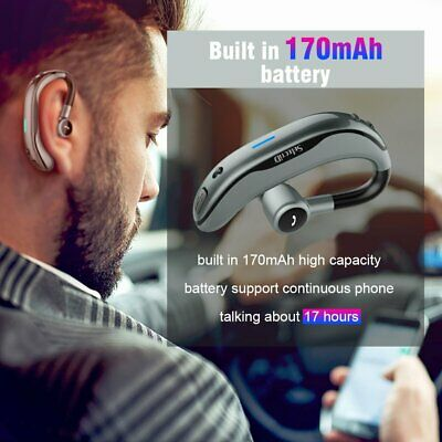 Wireless Earphones Bluetooth Headset Handsfree Headphones for iPhone Samsung UK