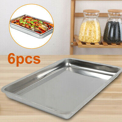 Stainless Steel Steam Tablehotel Buffet Pans 24deep12x20 Full Size6 Pack