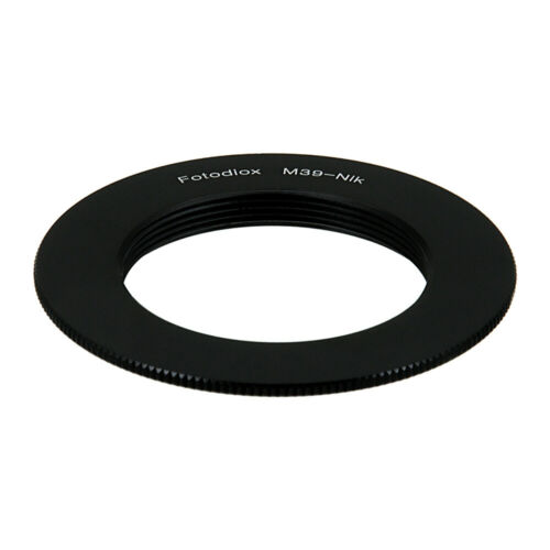 Fotodiox Lens Adapter for M39x1mm lens to Nikon F-Mount Cameras [M39-NikF]