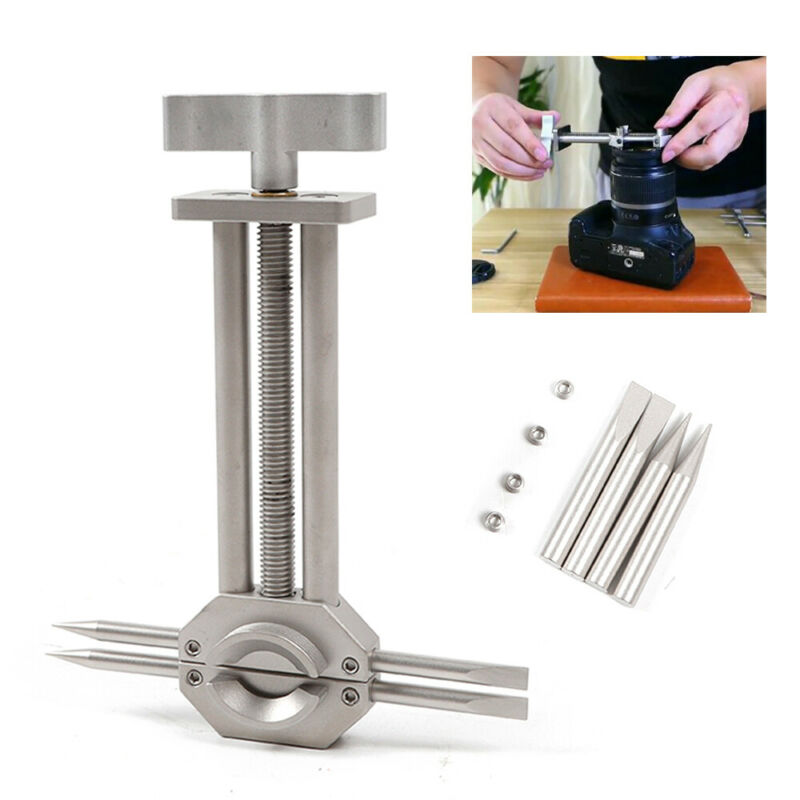 Camera Lens Vise Repair Tool for Lens and Filter Ring Range 30mm to 105mm