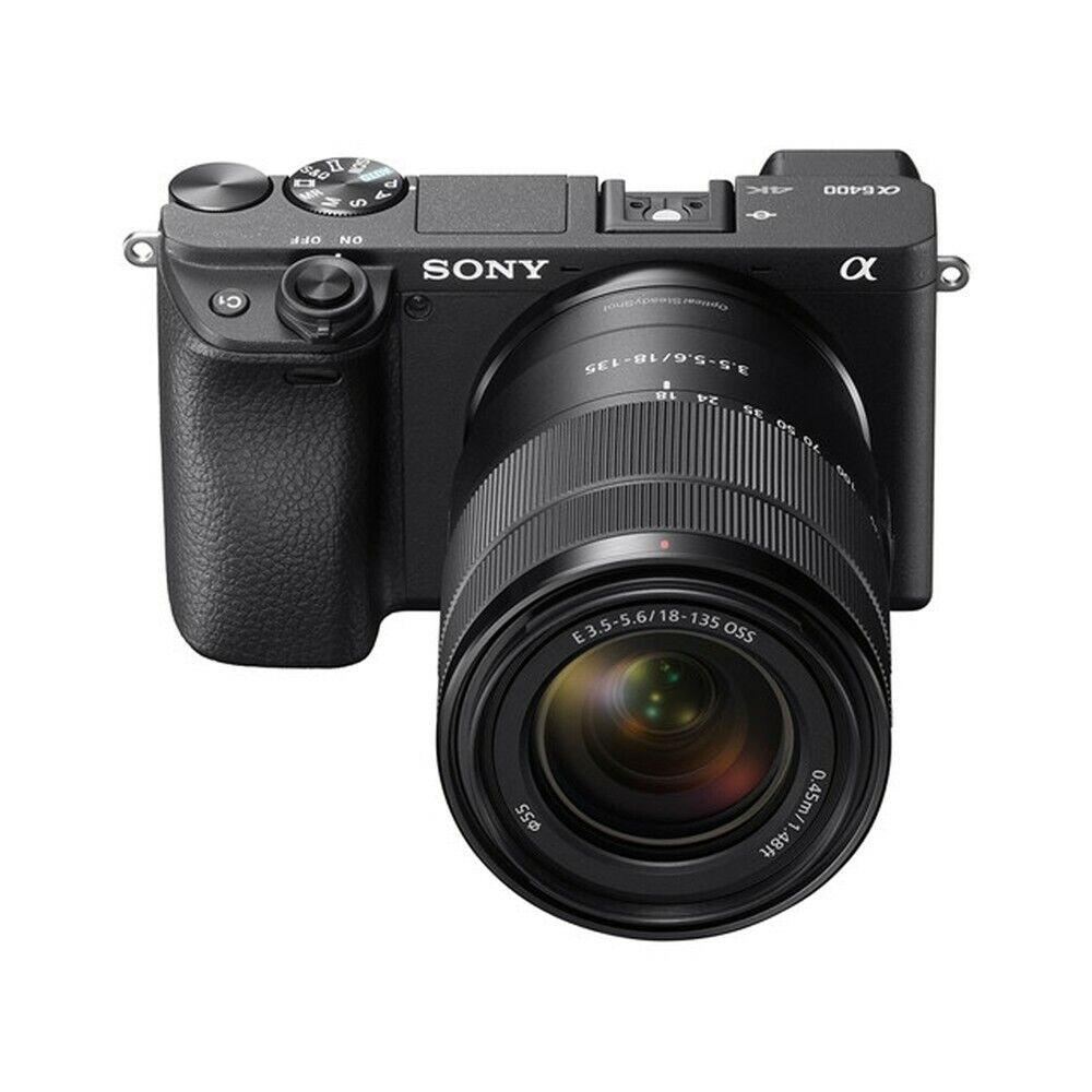 SONY Alpha a6400 Mirrorless 4K + Sony 18-135mm