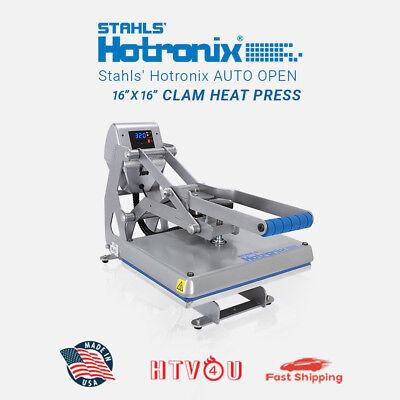 Stahls Hotronix Auto Open Clam Heat Press Stx16-120 16 X 16