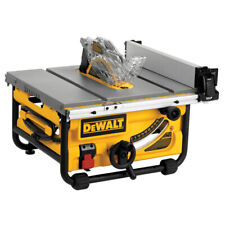 DEWALT 10 in. 15 A Site-Pro Compact Jobsite Table Saw DWE7480 Recon