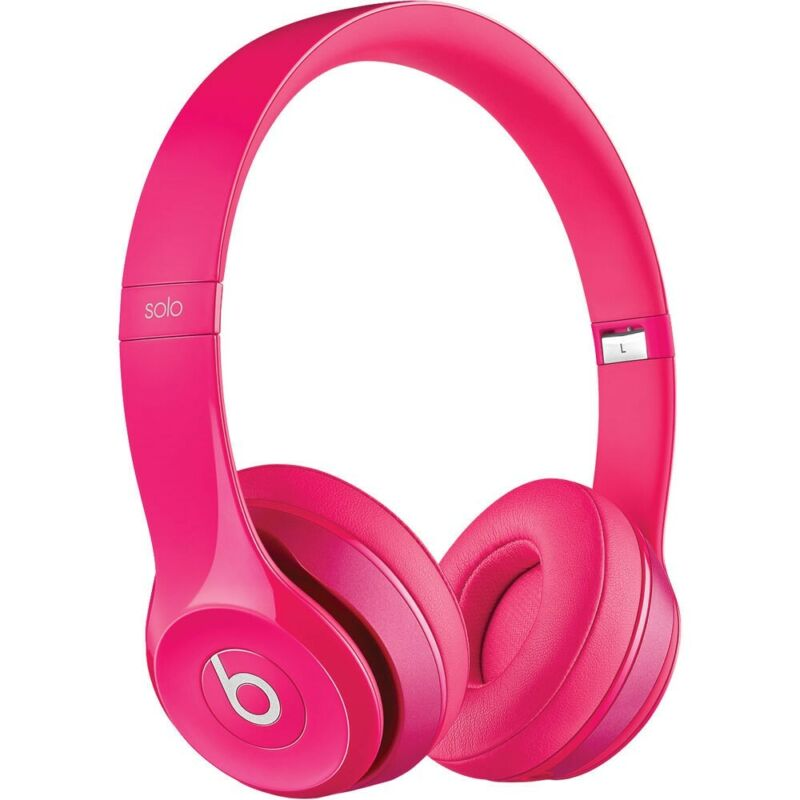 Beats solo2 Pink Wired headphones