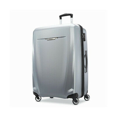 "Samsonite Winfield 3 DLX Spinner 28"" Checked Luggage - (Silver) - (120754-1776)"