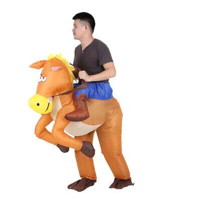 Weihnachten Aufblasbare Pferdekostüm Party Unisex Kostüm Outfit Karneval - Aufblasbare Outfits