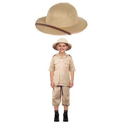 Kinder Safari Explorer Kostüm und Hut Adventurer Ranger - Safari Ranger Kostüm