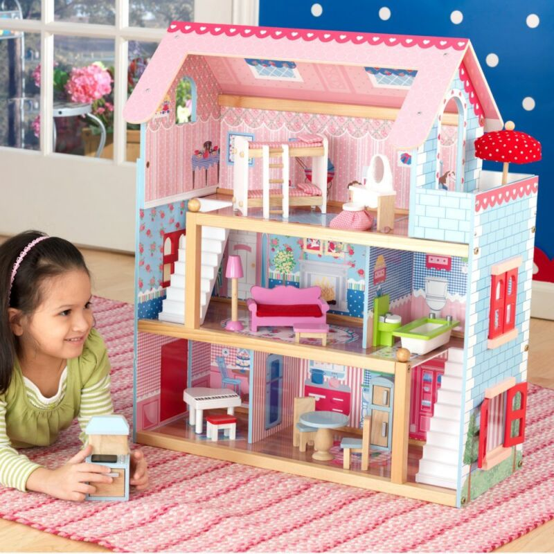 Барби куклы и их домики своими руками 32