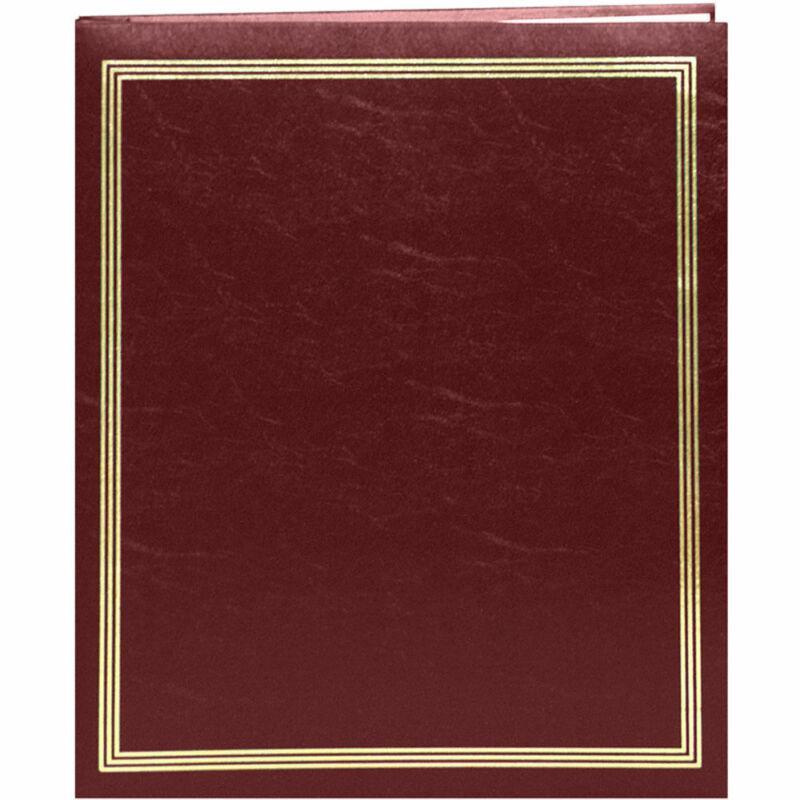 """Pioneer SJ-100 Jumbo 11 x 14"""" Scrapbook Album Burgundy"""