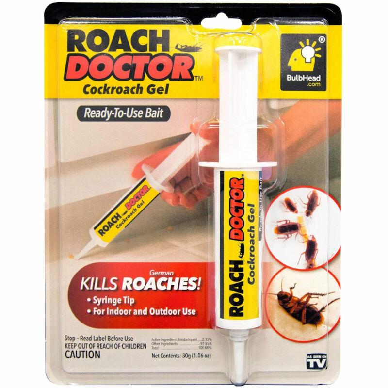 Cockroach Gel Ready-to-Use Gel Bait Roach Killer with Syringe Applicator