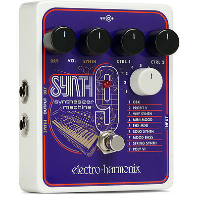 Electro Harmonix SYNTH 9 Synthesizer Machine Pedal SYNTH9