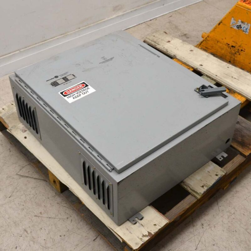"Hammond 1447SE10 Type 1 Vented 25-1/4"" x 30"" x 10"" Electrical Enclosure 1-Door"