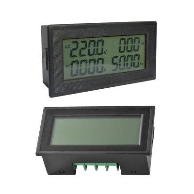 6in1 Digital Frequenz Spannungsanzeige Voltmeter Amperemeter Wattmeter LCD TE868