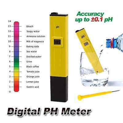Digital PH Meter Tester Pocket Portable Pool ...
