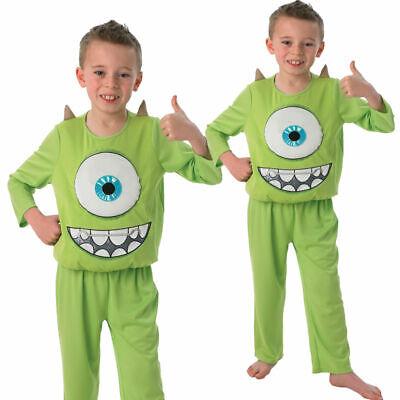 luxe Mike Green Monster Halloween Fancy Dress Costume Outfit (Monsters Inc Halloween-kostüme)