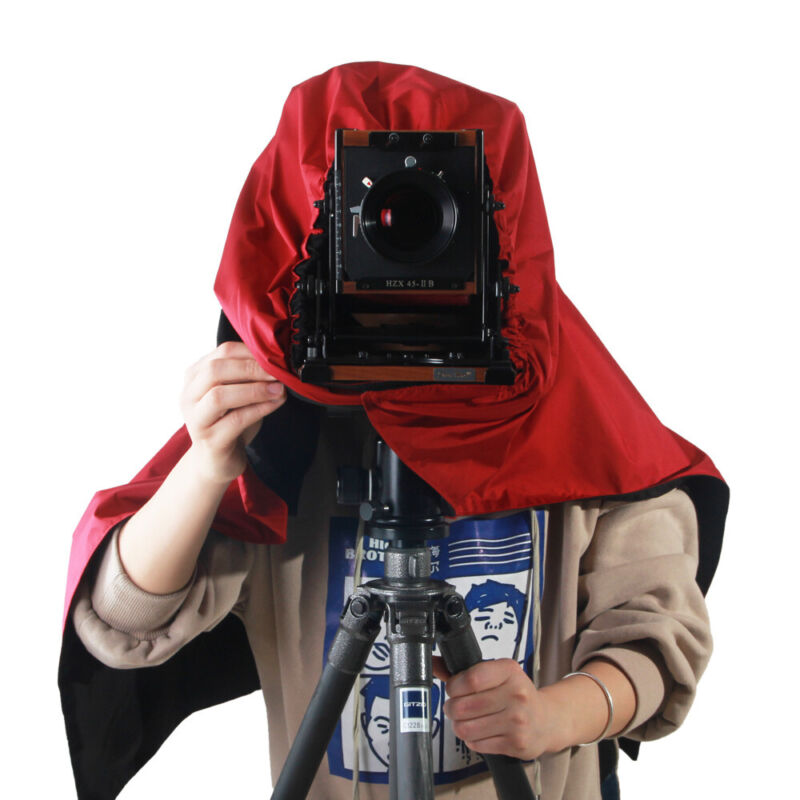 eTone Professional Dark Cloth Focusing Hood For 4x5 Large Format Camera Wrapping