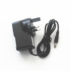 UK Plug 12V 400mA 0.4A Adaptor Power Supply Adapter Cord 5.5mm x 2.5mm