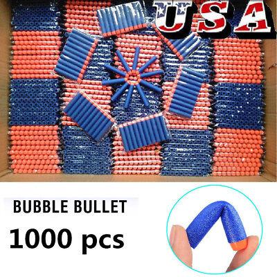 1000Pcs Foam Refill Bullet Darts for Nerf Elite Series Blasters Kids Gun Toy Fun](Fun Foam)