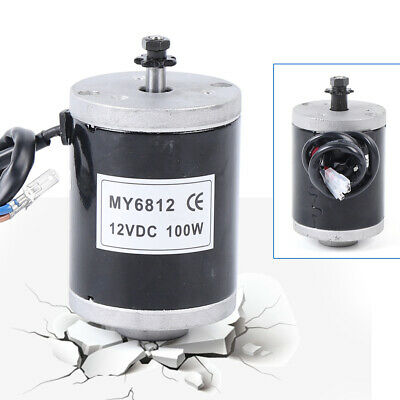 Dc 12v My6812 High Speed Small Brush Motor 100w Electric Motorcycle Scooter Us