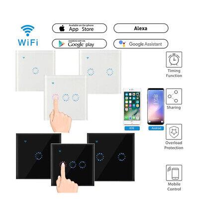 WiFi Smart Light Dimmer Switch Wireless Touch Retome For Alexa Google UK Plug