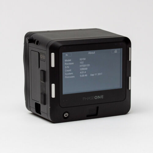 Phase One IQ1 50MP Digital Back Mamiya Fit
