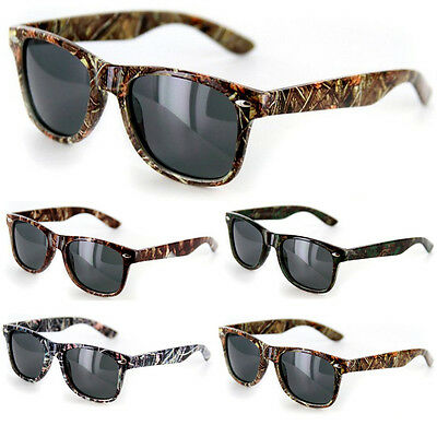 Mossy Oak Style Camo SUNGLASSES Real CAMOUFLAGE Tree HUNTING (Sunglasses Disguise)