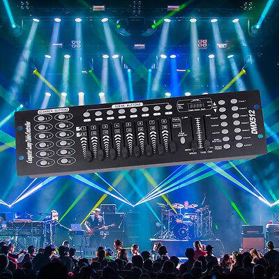 2PCS192CH Stage Lighting DMX512 Controller Laser Light Console Party Disco Light