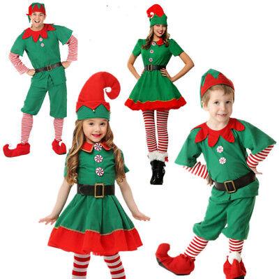 y Kostüm Erwachsen Kind Grün Verkleidung Elfkostüm (Kind Elf Kostüm)