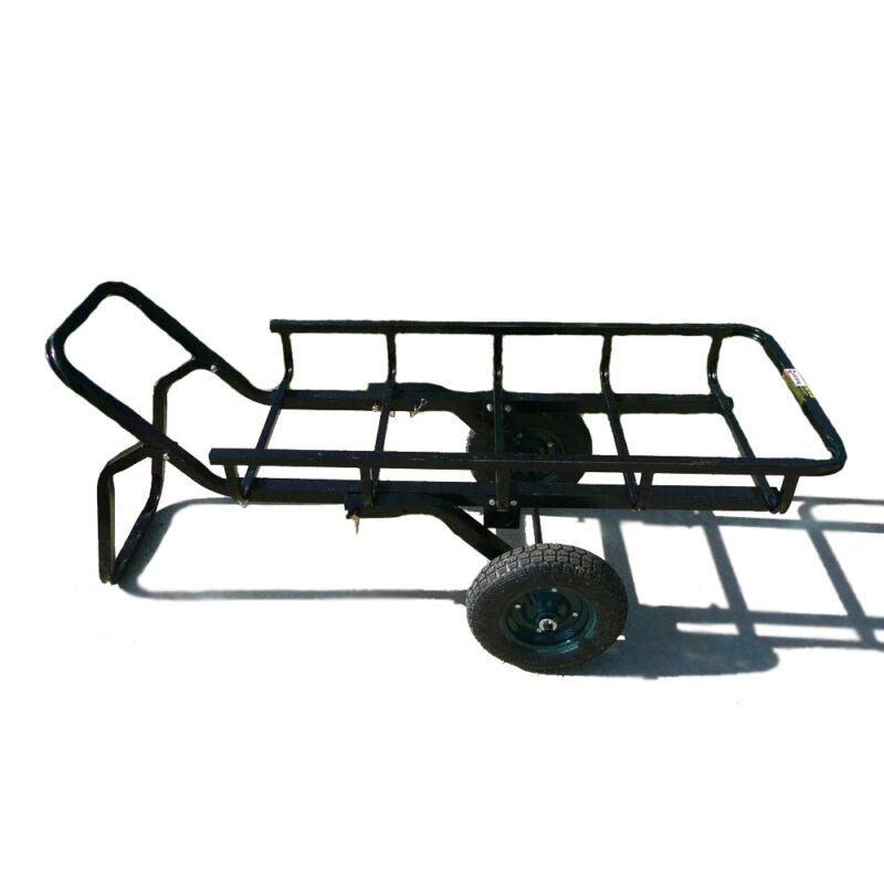 Viking Solutions Tilt-N-Go Combo Hauler with Hitch Adapter and 13.5 Inch Wheels