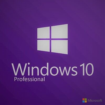 Windows 10 Pro Professional 32 64bit OEM Key Instant Delivery + Download Link