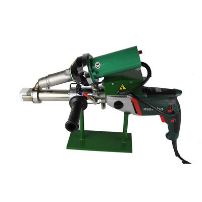Ac220v Handheld Plastic Extrusion Welder Hot Air Extruder 5001b