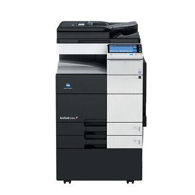 Konica Minolta Bizhub C654 Color Printer Scan Copier 65 Ppm Laser Tabloidledger