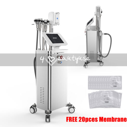 6in1 Cool Freeze Body Sculpting Fat Loss Professional Cooling Vacuum System Spa