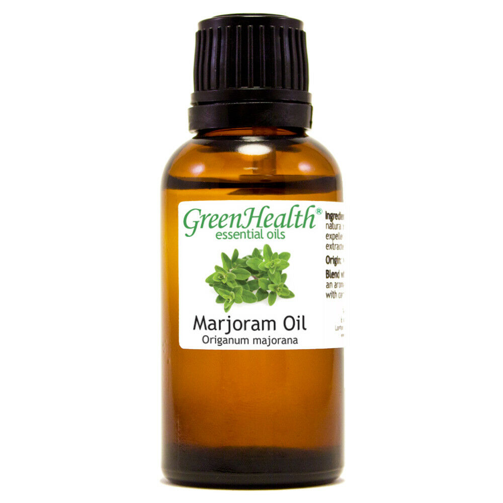 Essential Oils 30 mL (1 oz) - Pure & All Natural - Aromatherapy Oil Marjoram