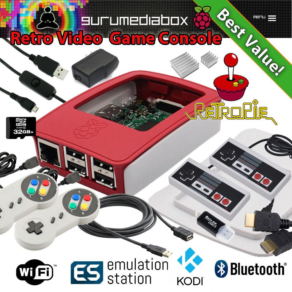 $101.65 - #1 Raspberry Pi 3 Video Game System - Kodi - Retropie - Pixel PC - Retro Games