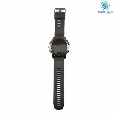Garmin Fenix 5X Slate Gray Sapphire with Black Band GPS Multisport Grade B+