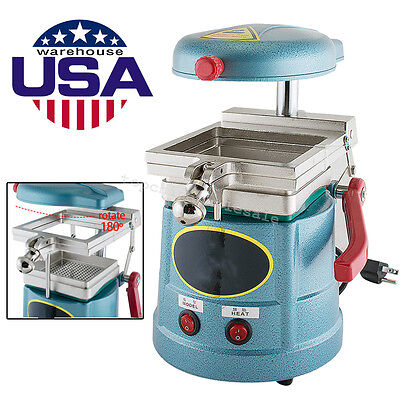 Dental Vacuum Former Molding Machine Former Heat Thermoforming Equipment 1000w