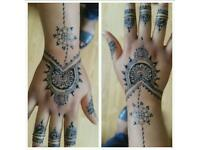 Personalised henna canvas/mehndi canvas/henna candles/mehndi candles/henna tattoo/bridal henna